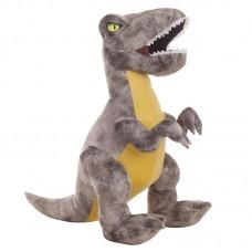 T-rex plüss figura - szürke