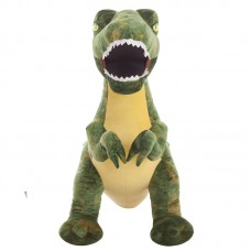 T-rex plüss figura - zöld