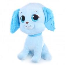 Cara - kék plüss kutya