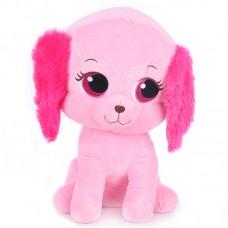 Cara - rózsaszín plüss kutya