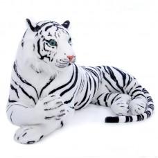 Angusz - plüss óriás fehér tigris