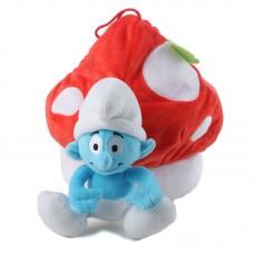 Törp gombával - Hupikék Törpikék zsák