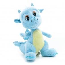 Hektor - kék plüss sárkány