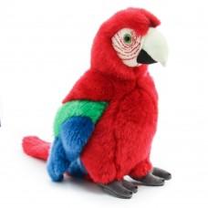 Gyuri - piros plüss papagáj