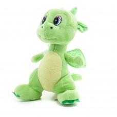 Flint - zöld plüss sárkány