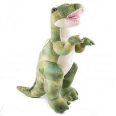 Zöld T-rex - plüss dinó