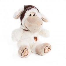 Tibi - fehér plüss bárány