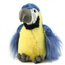 Gigi - plüss kék papagáj