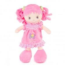 Vivi - plüss halvány rózsaszín baba