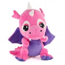 Saphira - rózsaszín plüss sárkány