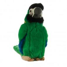 Gyuri - zöld plüss papagáj