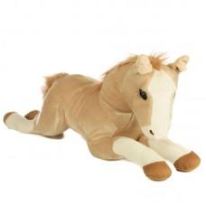 Nord - világosbarna plüss ló