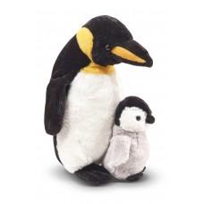 Pingvin mama fiókával