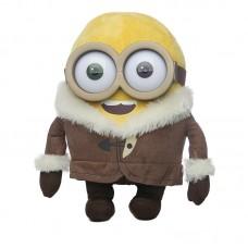 Alacsony plüss minyon kabátban
