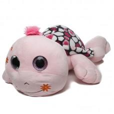 Óriás rózsaszín plüss teknős