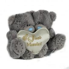 'Just married' - szerelmespár plüss macik