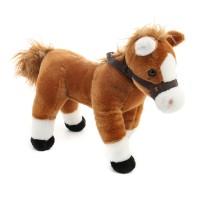 Barna lovacska - plüss ló