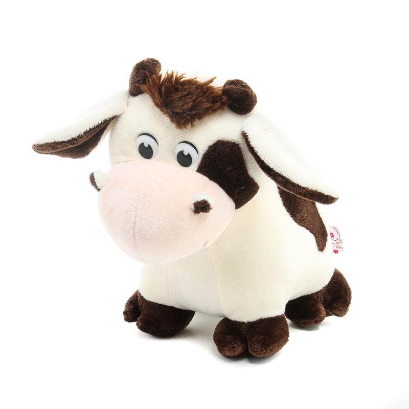 Tőgyi - plüss tehén