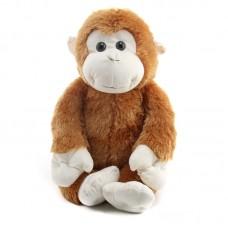 Vili - világosbarna plüss majom