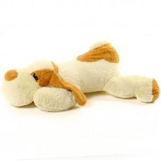 Denis - nagy fekvő plüss kutya