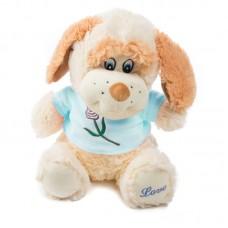 Kia - plüss kutya világoskék pólóban