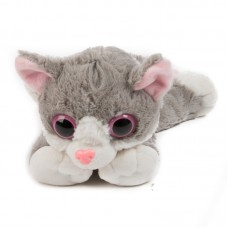 Betti - szürke plüss cica