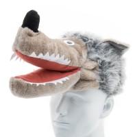 Állatfigurás sapka - farkas