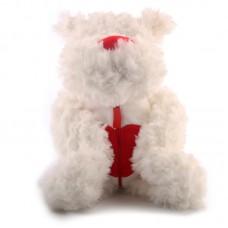 Hektor - plüss kutyus fehér