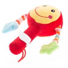 Baby csörgő - piros