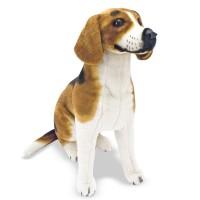 Samu - élethű plüss beagle