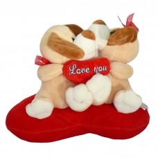 Szerelmespár - plüss kutyusok