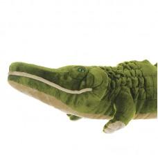 Óriási plüss krokodil - zöld - 180cm
